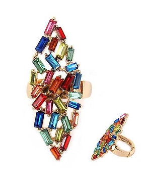 Whimsical the 2nd Baguette Ring