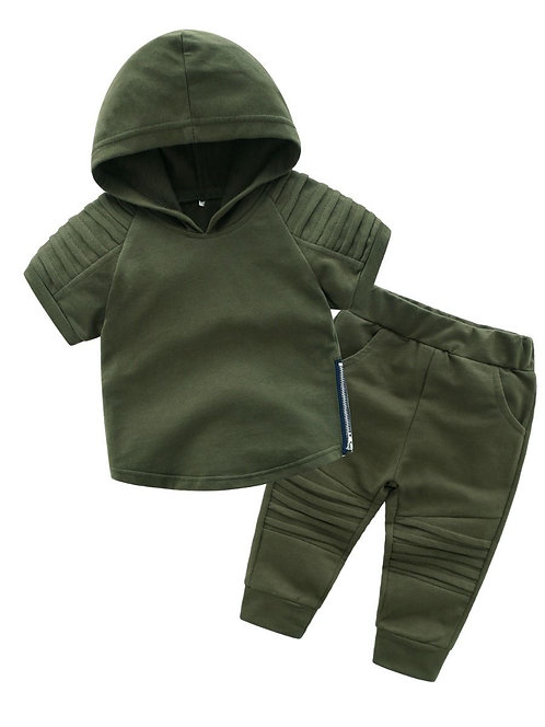 Boys Hooded Jogging Set