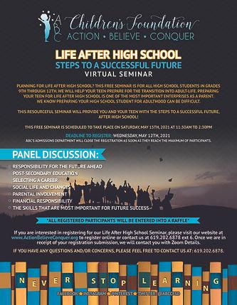 Life After High School's Flyer.jpg