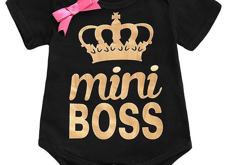 Girl Mini Boss Onesie