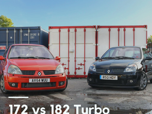 Clio 172 vs Clio 182 Turbo