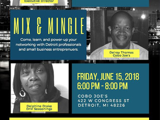 Mix & Mingle With Caribbean Community Service Center, 6/15
