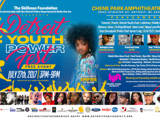 Detroit Youth Power Fest, July 27th