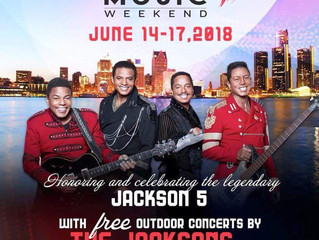 Detroit Music Weekend, June 14-17th