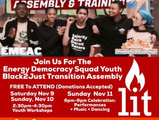 Black 2 Just Transition Assembly & Training in Detroit, Nov. 8-12