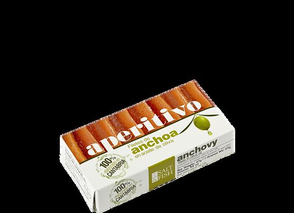 RR-50, Filetes de Anchoa en Aceite de Oliva