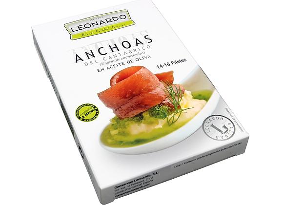 LH-120, Filetes de Anchoa en Aceite de Oliva