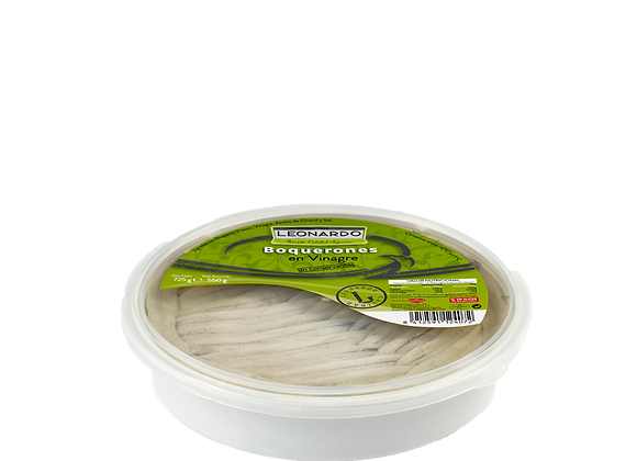 850 ML tub, White Anchovy Fillets in Vinegar