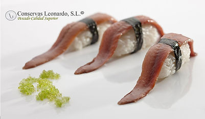 Nigiri de filete de Anchoa Leonardo