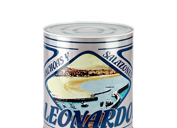 10/12 kg large can, LEONARDO, Salt-packed anchovies