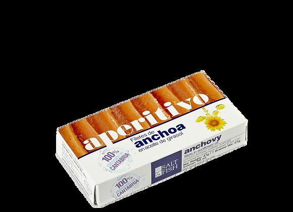 RR-50, Filetes de Anchoa en Aceite de Girasol