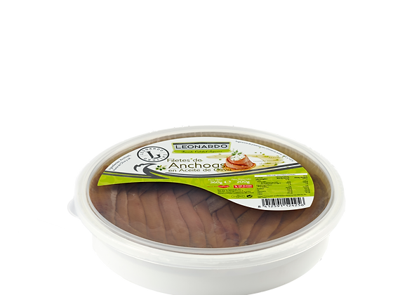 360 ML tub, Anchovy Fillets in Olive oil.