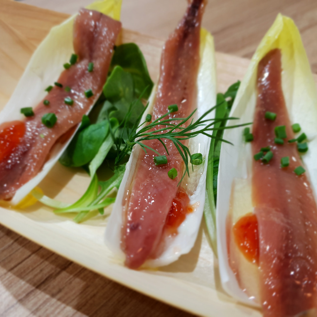 Appetizers with Anchovies