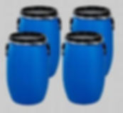 used cooking oil containers