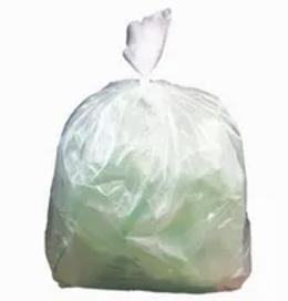 clear refuse sacks clear bags