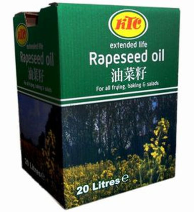 20 litre ktc extended life gm free rapeseed oil