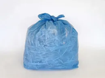 heavy duty blue refuse sacks blue bags