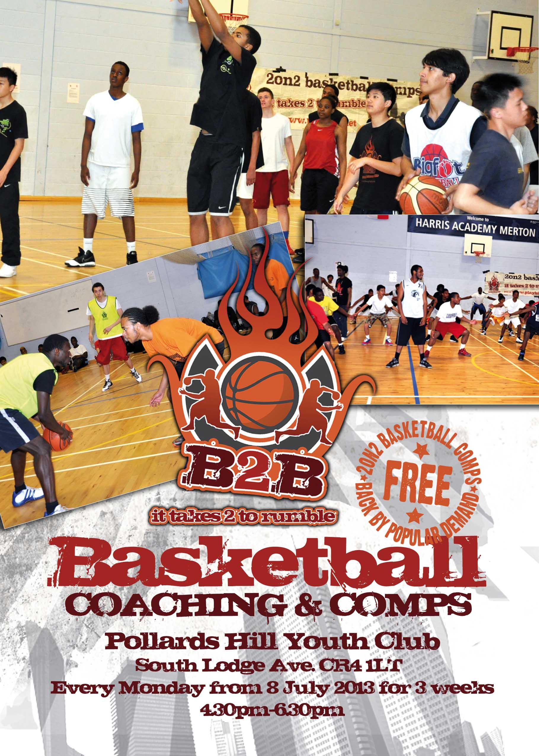 B2B Basketball Coaching & Comps 2013