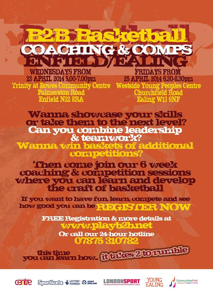 Coaching & Comps, Enfield