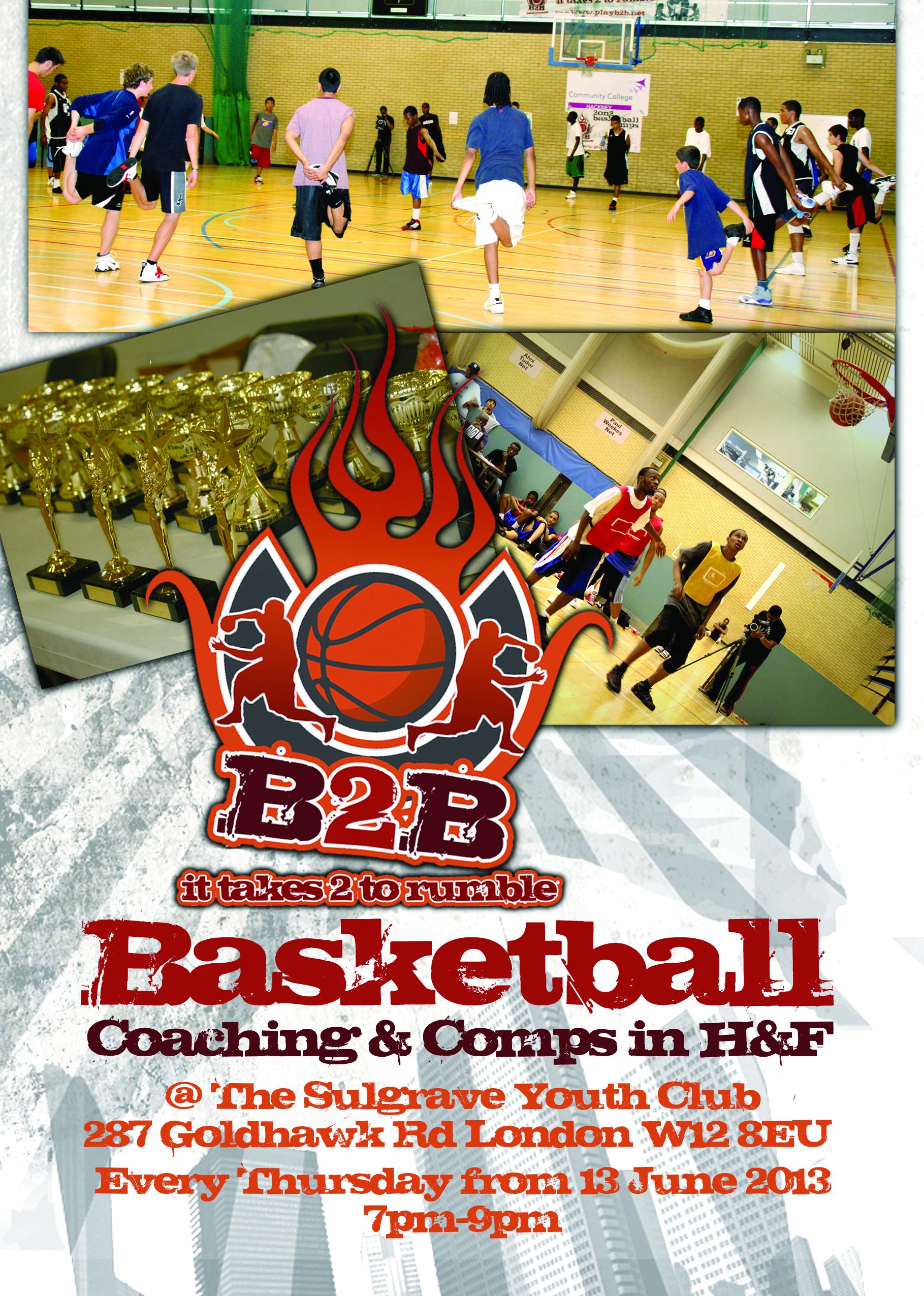 B2B Basketball Coaching & Comps 2012