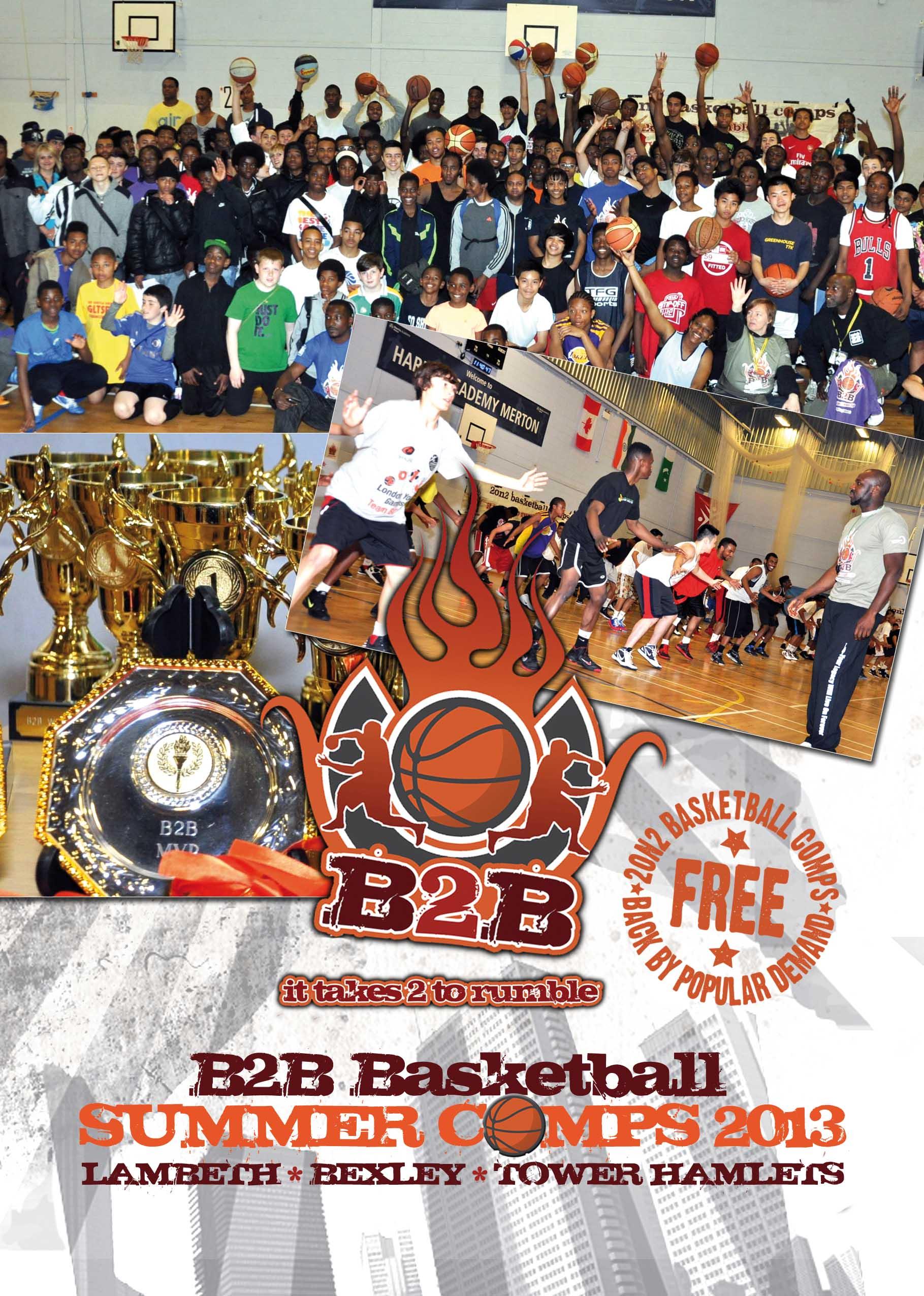 B2B Basketball Summer Comps 2013
