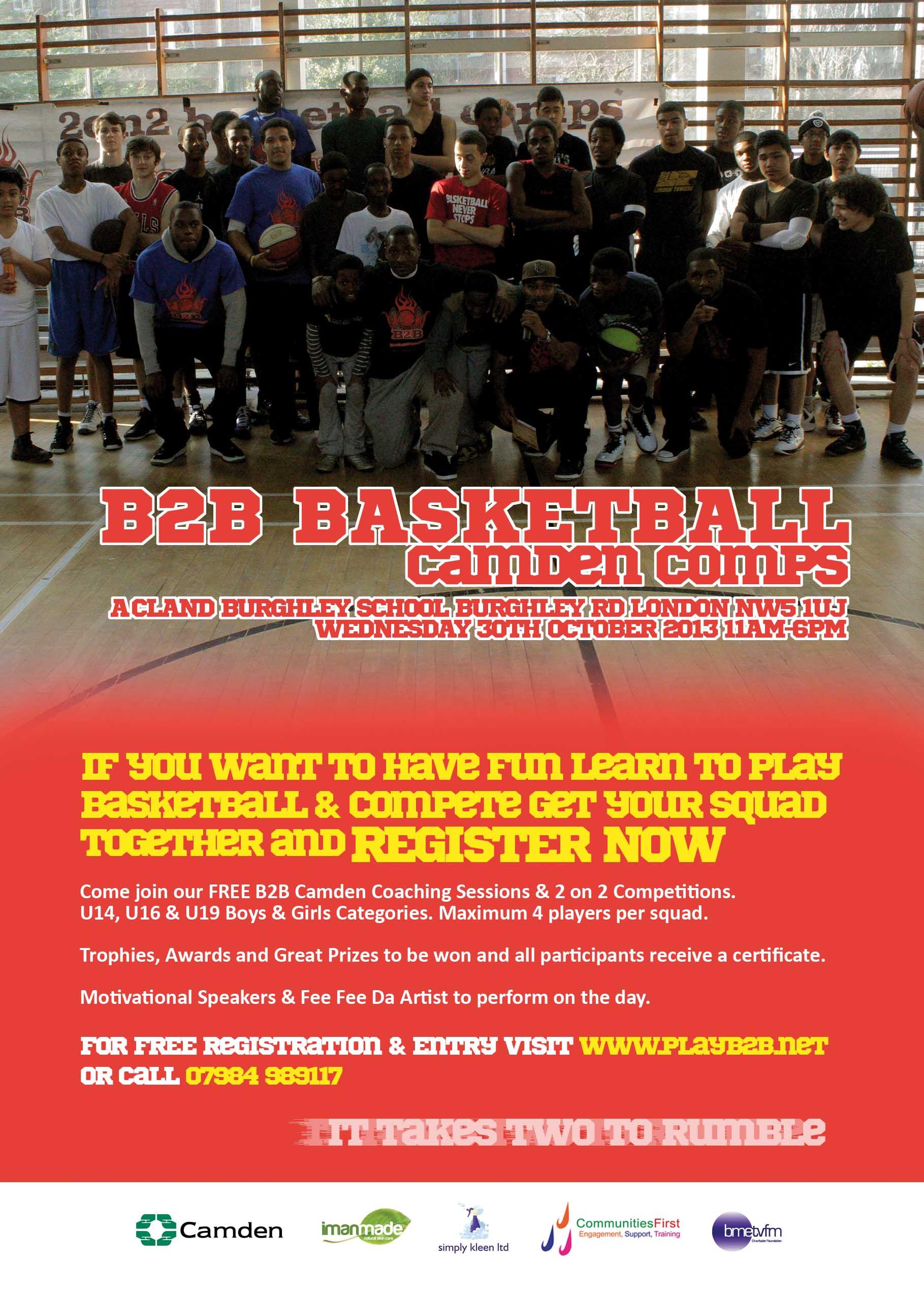 B2B Basketball camden comps 2013