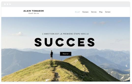 création site web consultant