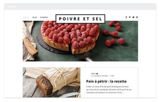 Création de site wix vente en ligne