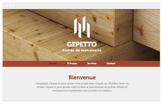création site web construction