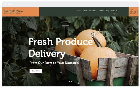commerce de gros fruits et légumes