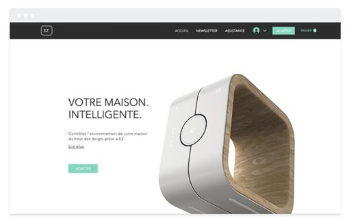 Boutique en ligne mobilier