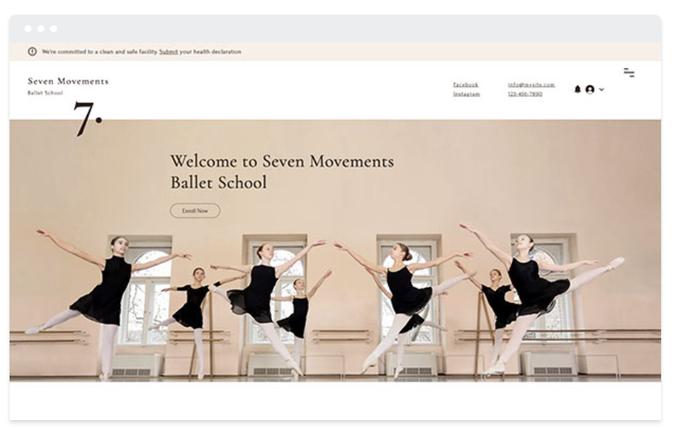 Services en ligne danse