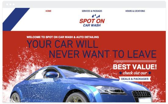 création site web automobile