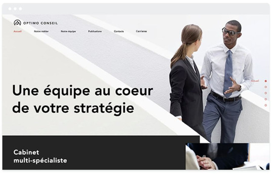 création site web formation