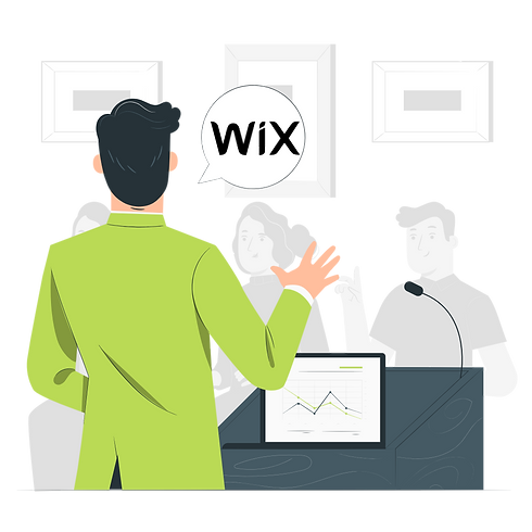Formation site web Wix