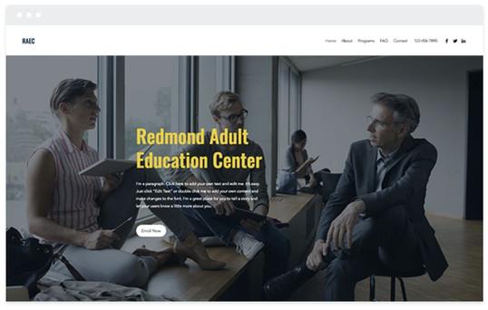 création site web enseignement