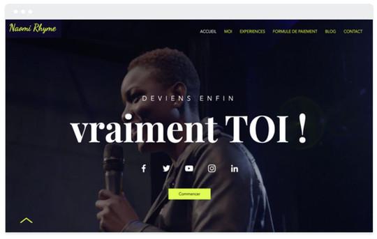 création site web formation personnelle