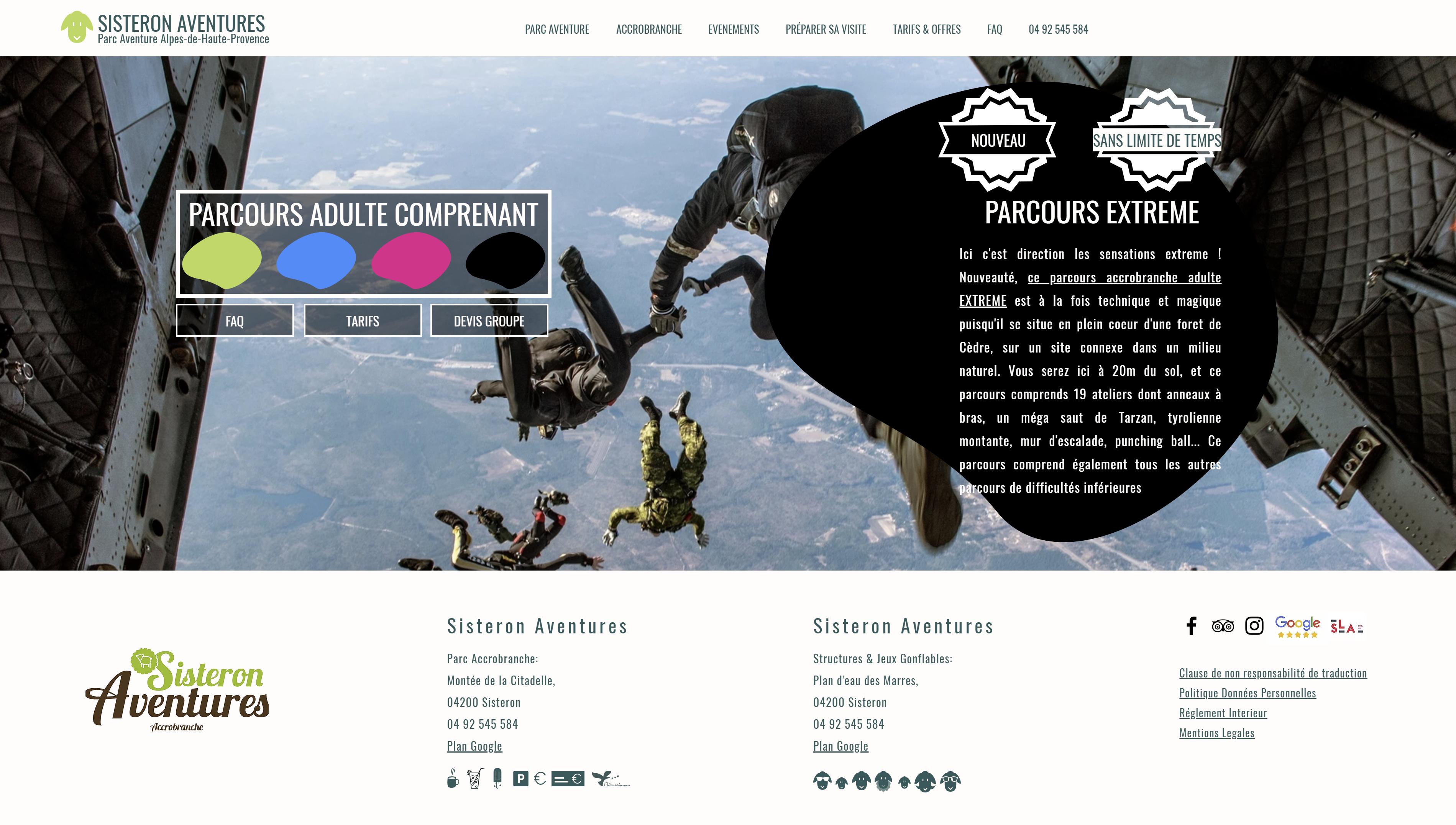 creation site internet alpes de haute provence