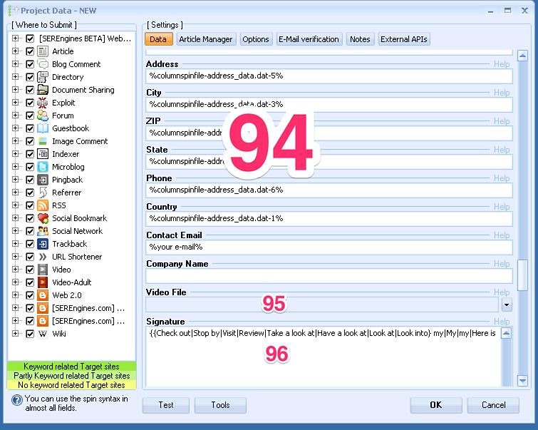 formation tutoriel francais GSA Search Engine Ranker