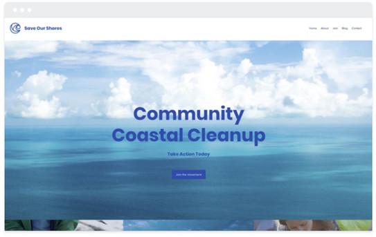 création site web environnement