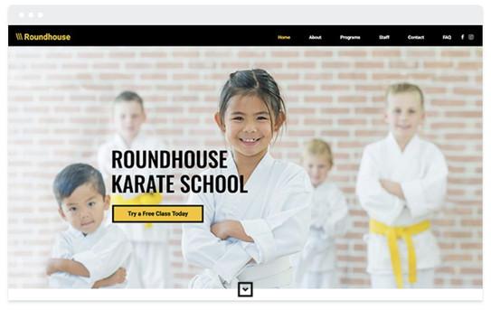 création site web sport de combat