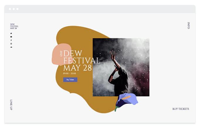 Site éphemere Festival