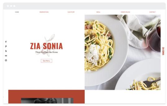 création site web restaurant