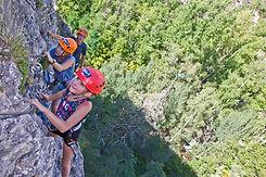 via ferrata parc aventures hautes alpes PACA
