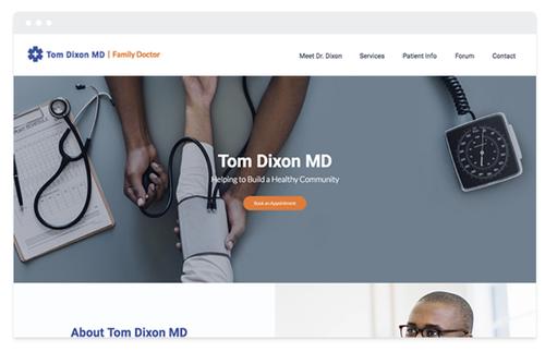 Prise de rdv en ligne médical