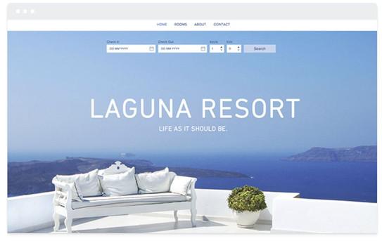 création site web hotellerie