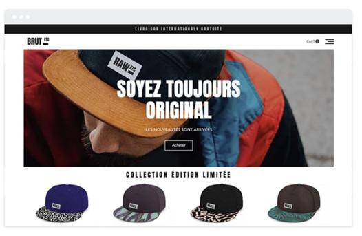création site web textile