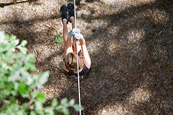 parc acrobatique en hauteur