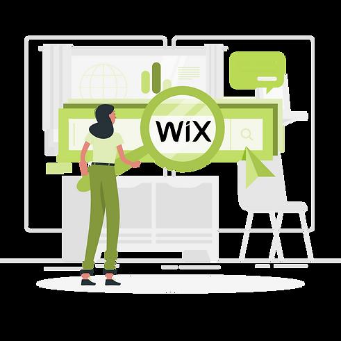 référencement de site web Wix