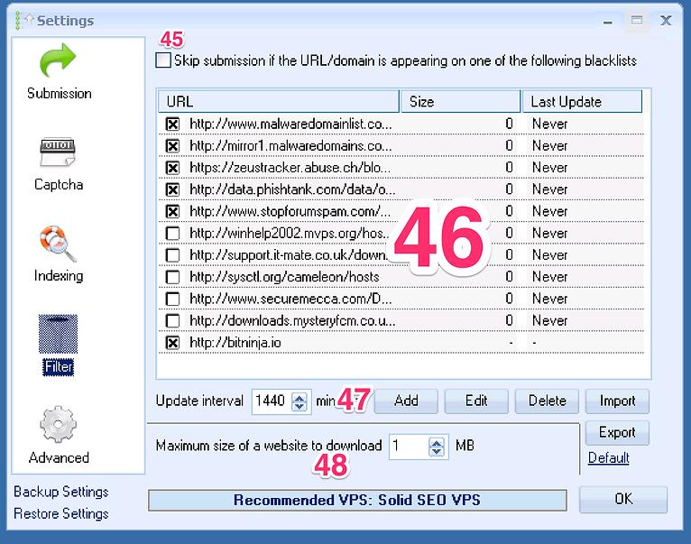 Commencer sur tutoriel francais GSA Search Engine Ranker
